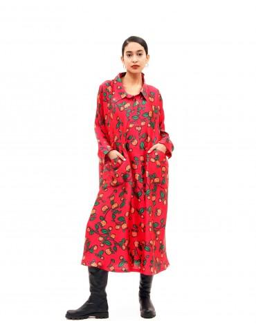 Topolina - Dress Cherry
