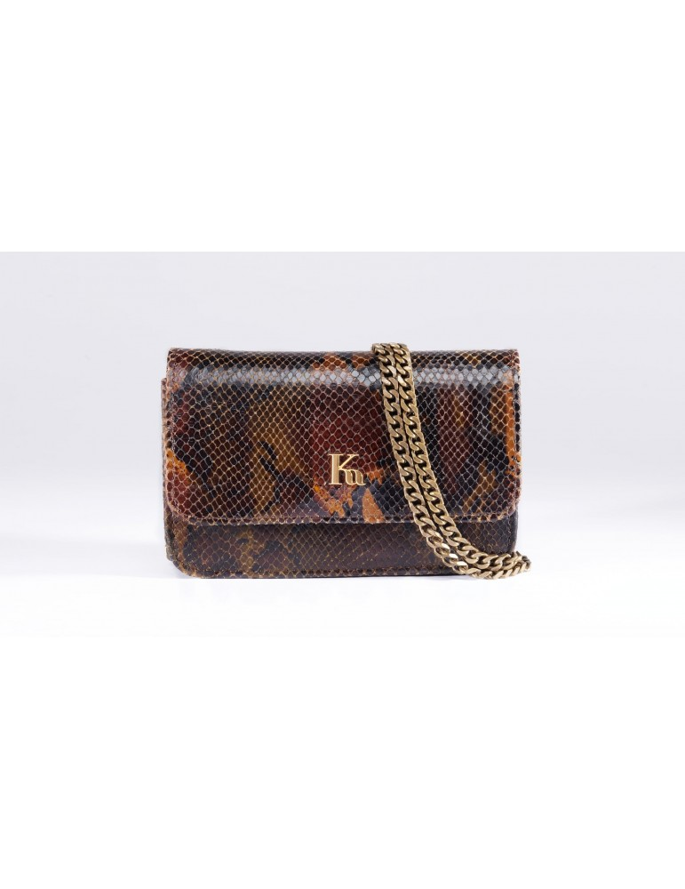 crossbody leather brown
