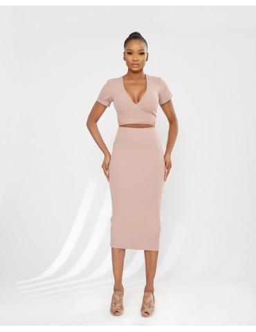 Ilaré - Crop and skirt Natasha